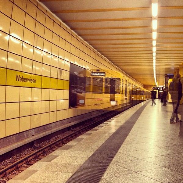 Photo taken at U Weberwiese by Fritztram on 11/30/2012