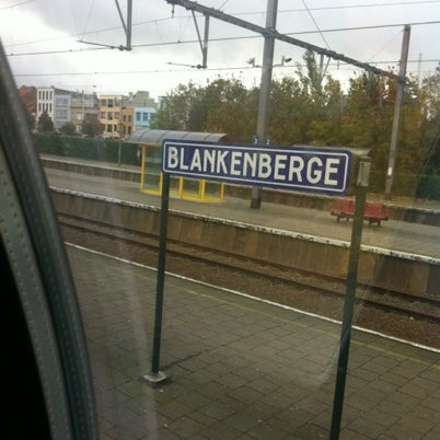 Photo taken at Station Blankenberge by Nienke H. on 10/5/2012