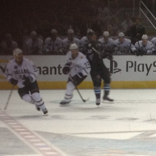 Photo taken at SAP Center at San Jose by Mimi L. on 4/7/2013