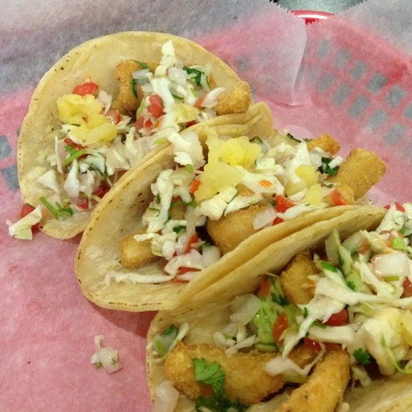 Photo taken at Tia Cori's Tacos by Jonathan R. on 7/20/2013