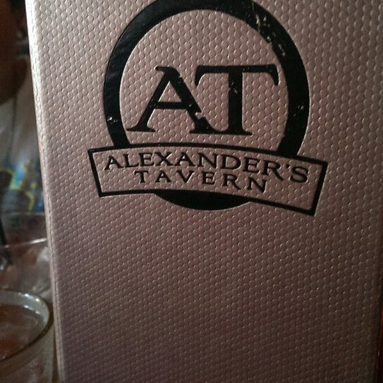 Photo taken at Alexander's Tavern by Allen D. on 6/8/2013