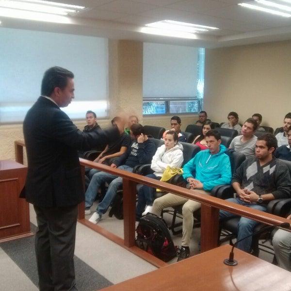 Photo taken at Universidad del Valle de Atemajac (UNIVA) by Karo P. on 2/25/2013