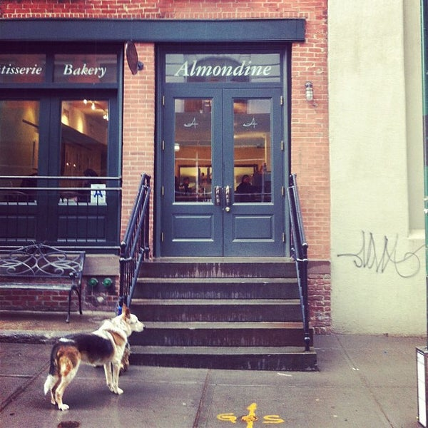 Photo taken at Almondine Bakery by Todd L. on 3/25/2013