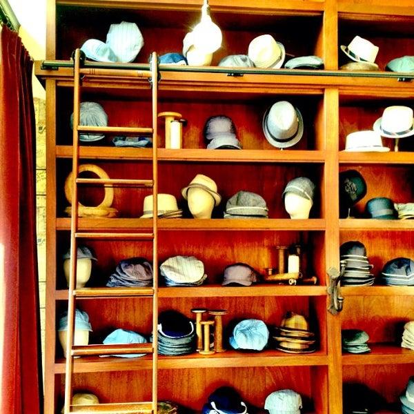 Photo taken at Goorin Bros. Hat Shop by Pete P. on 5/12/2013