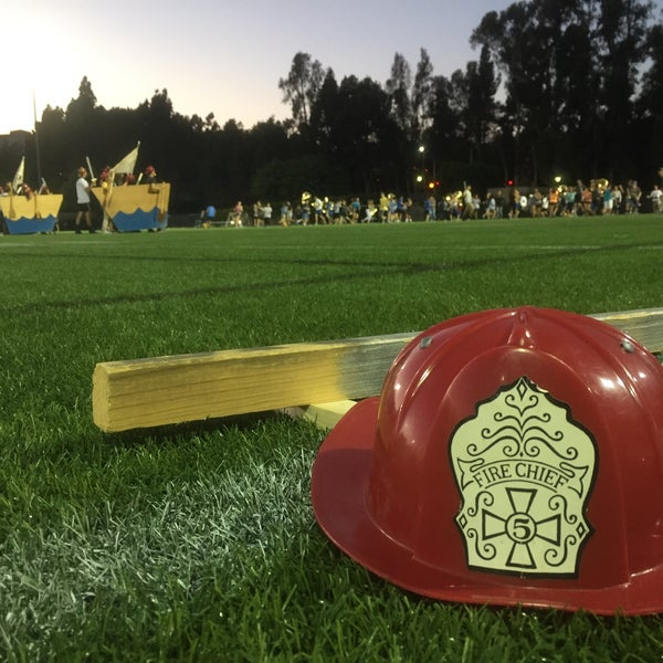 Photo taken at UCLA Intramural Field by Carly H. on 10/21/2015