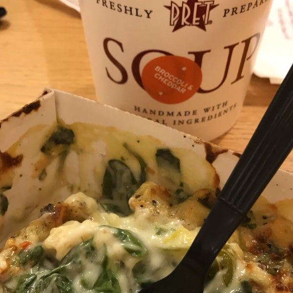 Photo taken at Pret A Manger by Bubby A. on 1/2/2017