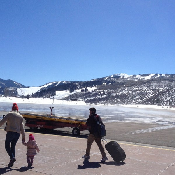 Photo taken at Aspen - Pitkin County Airport (ASE) by Alex J. on 3/25/2013