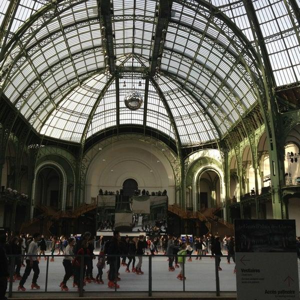 Photo taken at Grand Palais by Natacha H. on 12/24/2012