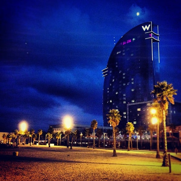 Photo taken at W Barcelona by Manuél D. on 10/13/2013