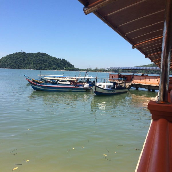 Photo taken at Tanjung Dawai by Muhammad A. on 7/30/2016