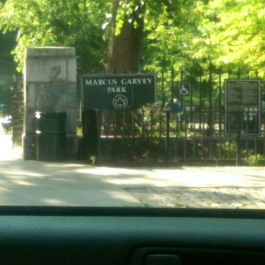 Photo taken at Marcus Garvey Park - Dog Run by Michael A. on 5/25/2016