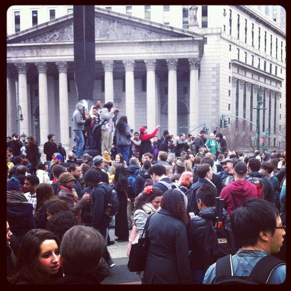 Photo taken at NYC Municipal Building by Brett M. on 1/13/2013