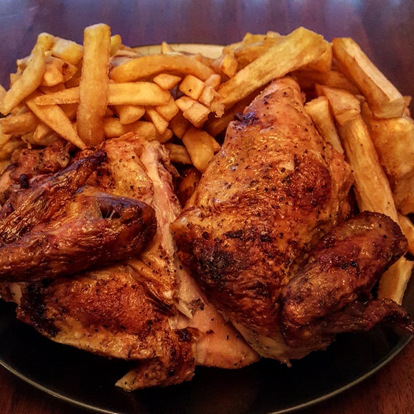 The Manager's Special is the way to go, which gets you one whole charbroiled Peruvian chicken along with x-large french fries and x-large yuca.
