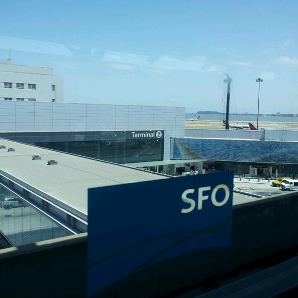 Photo taken at San Francisco International Airport (SFO) by Sun Ah K. on 7/21/2013