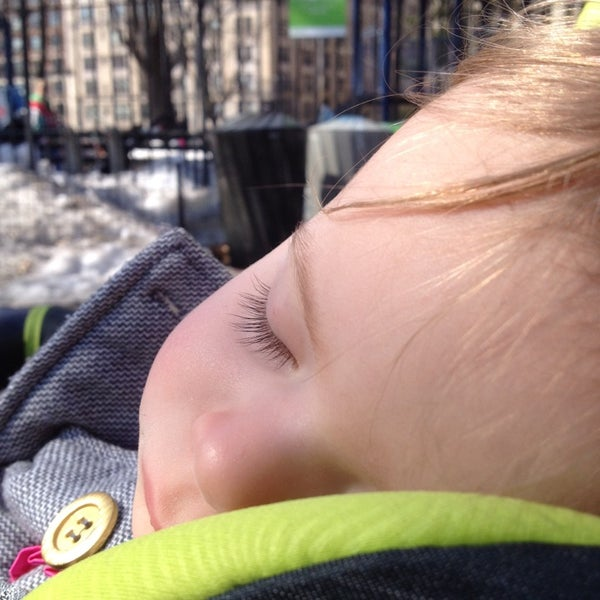 Photo taken at Central Park - Mariners' Gate Playground by Daniel C. on 3/8/2014