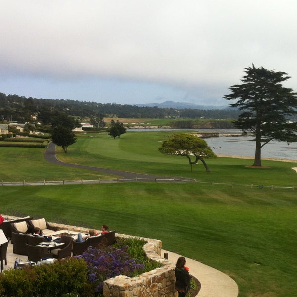 Photo taken at The Lodge at Pebble Beach by Ashley A. on 4/27/2013