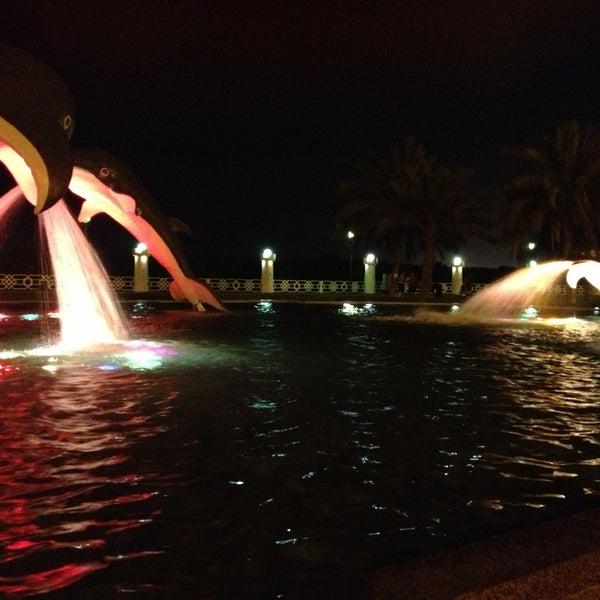 Photo taken at Corniche Al Gorm by Saroona Alh on 5/1/2013