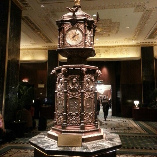 Photo taken at Waldorf Astoria New York by Kevin T. on 1/17/2013