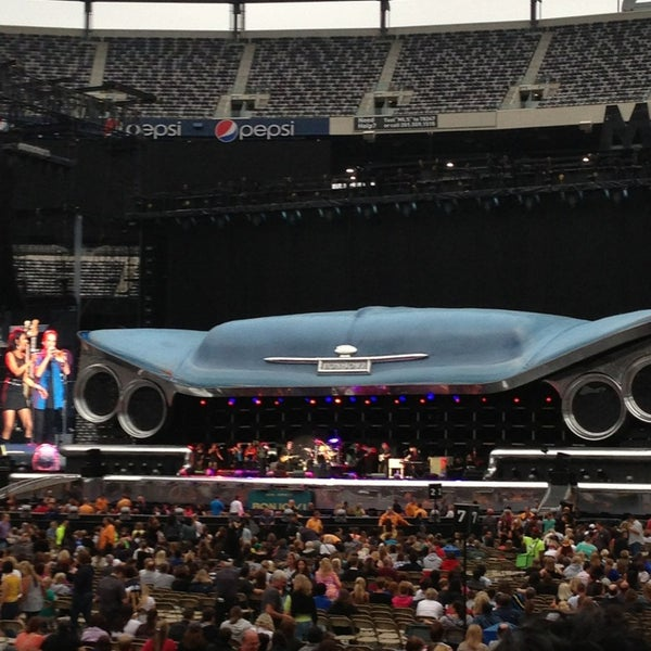 Photo taken at MetLife Stadium by Lauren M. on 7/25/2013