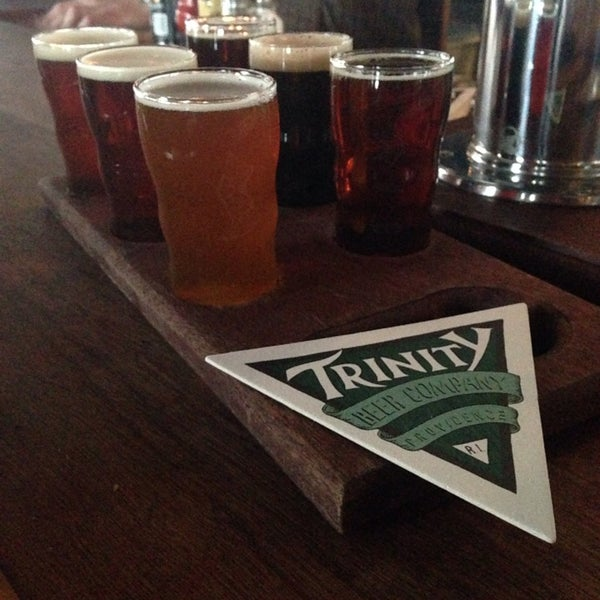 Photo taken at Trinity Brewhouse by Sean D. on 2/13/2014