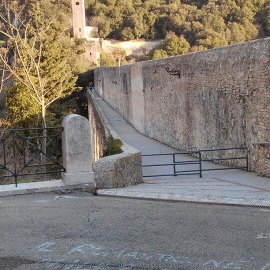 Photo taken at Ponte Delle Torri by Carlo Felice D. on 2/8/2013