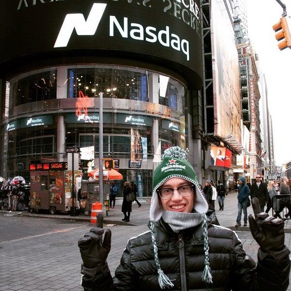 Photo taken at NASDAQ MarketSite by Leonardo Z. on 2/25/2015