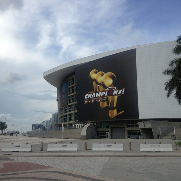 Photo taken at American Airlines Arena by Marco A. on 7/28/2013