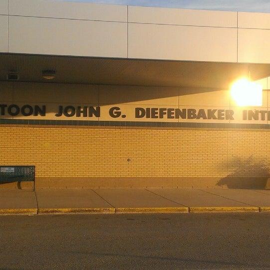 Photo taken at Saskatoon John G. Diefenbaker International Airport (YXE) by Danny G. on 7/24/2013