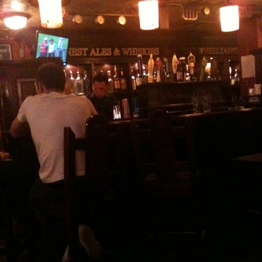 Photo taken at The Wheeltapper Pub by Stephen G. on 8/5/2011