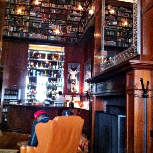 The Library At Hudson Hotel Hotel Bar In Hell S Kitchen