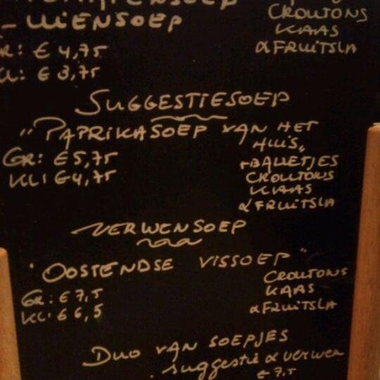 Photo taken at Soep.kom by Caroline V. on 1/4/2012