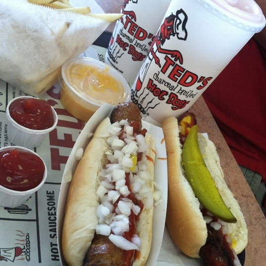 Ted 39 s hot dogs 333 meadow dr for Ted s fish fry menu