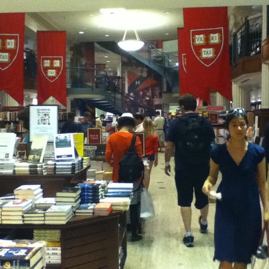 Photo taken at Harvard Coop Society Bookstore by Masha K. on 8/21/2012