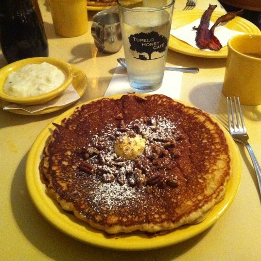 Photo taken at Tupelo Honey Cafe by Devon on 11/27/2011