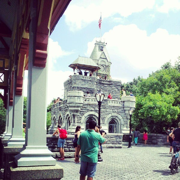 Photo taken at Belvedere Castle by Ashley C. on 7/29/2012