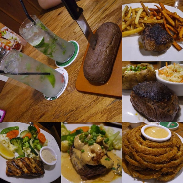 Photo taken at Outback Steakhouse by Kimmie T. on 10/10/2015