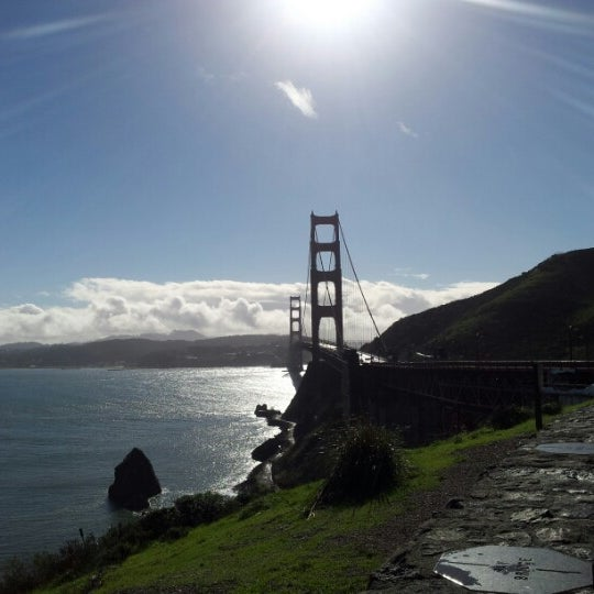 Photo taken at Vista Point by René S. on 12/2/2012