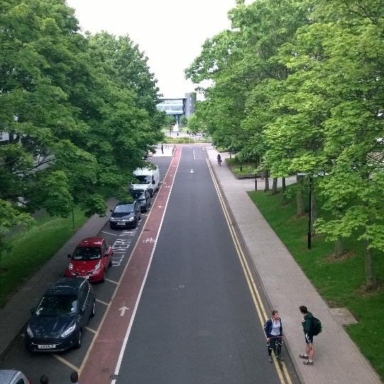 Photo taken at University of Warwick Library by Mofe P. on 8/14/2014
