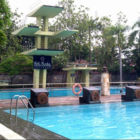 Photo taken at Graha Residence Swimming Pool by Dany S. on 2/8/2013