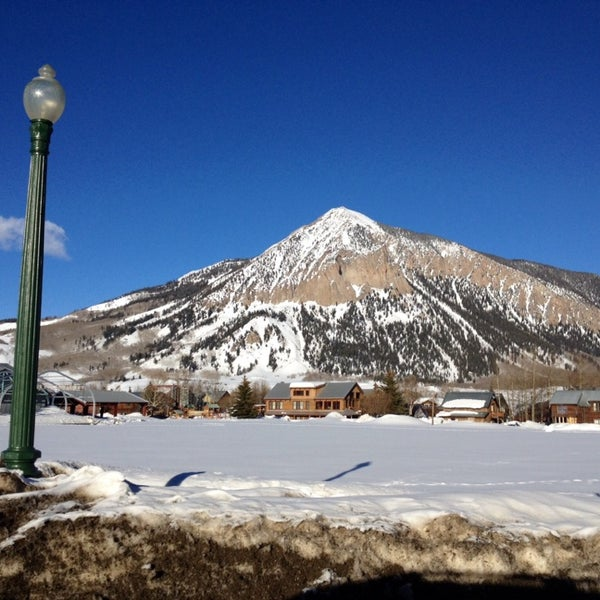 Photo taken at Crested Butte, CO by Laura Z. on 3/9/2014