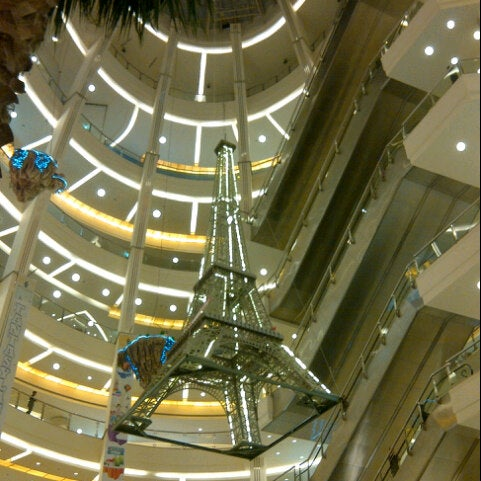Photo taken at Pacific Place by Dewi S. on 5/26/2013