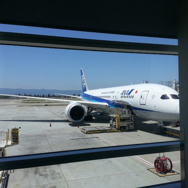 Photo taken at Terminal A by Stephen L. on 5/31/2014