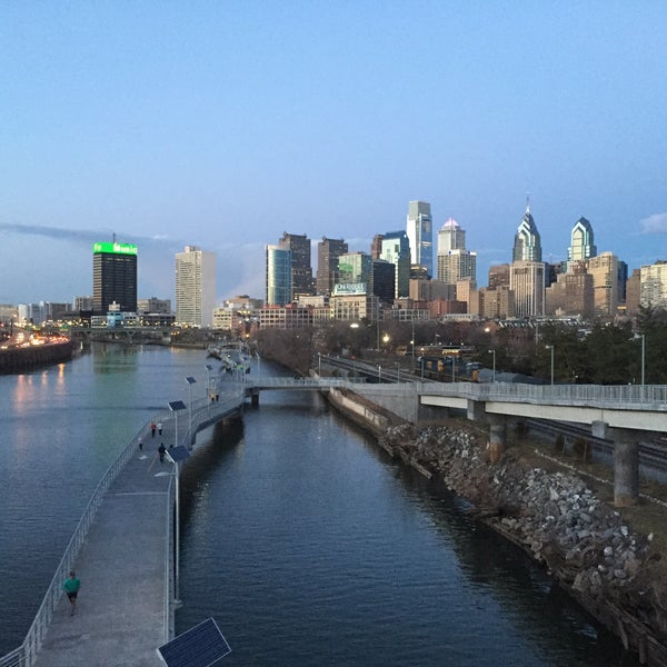 Photo taken at South Street Bridge by Hiltop F. on 3/30/2015