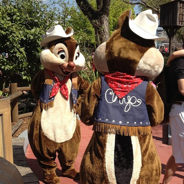 Photo taken at Frontierland by Heather W. on 2/21/2013