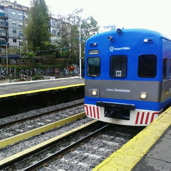 Photo taken at Estación Caballito [Línea Sarmiento] by Martin Nahuel R. on 5/19/2013