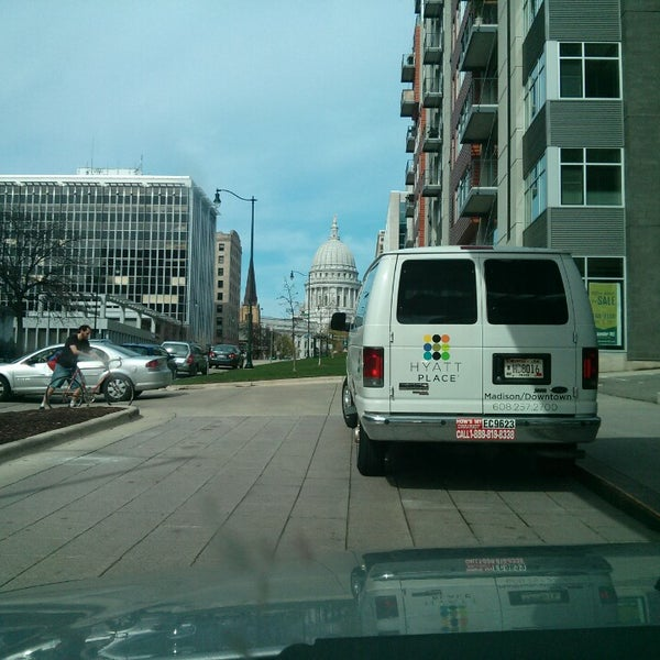 Photo taken at Hyatt Place Madison/Downtown by Chris C. on 5/4/2013