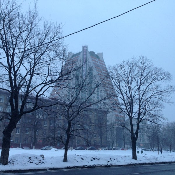 Photo taken at Улица Дмитрия Ульянова by K. B. on 3/20/2013