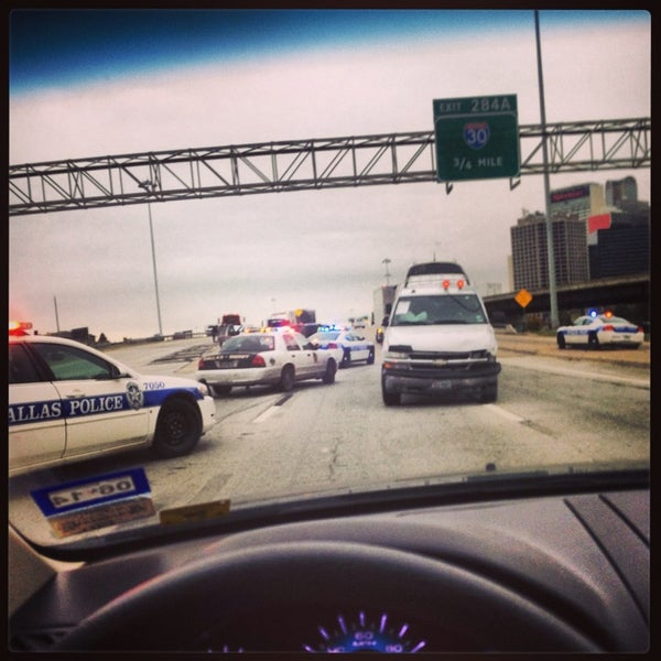 Photo taken at U.S. Highway 75 (US-75) by Anthony O. on 12/5/2013