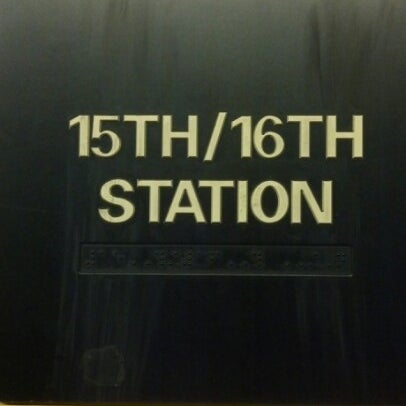 Photo taken at SEPTA: 15th Street Station (MFL/TRL) by Christopher M. on 2/4/2013