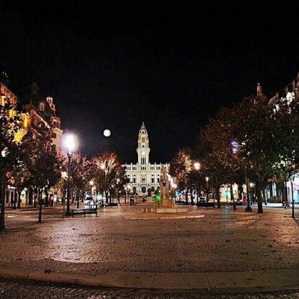 Photo taken at Avenida dos Aliados by Armando A. on 11/23/2012